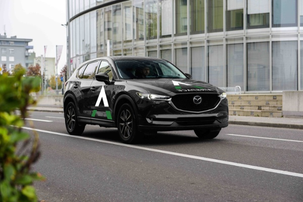 Mazda Car Courier Commander Airspace